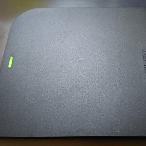 BUFFALO USB3.0 外付けDVD/CDドライブ...を買ってみた。
