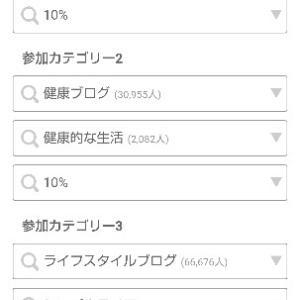 ブログ村カテゴリー更新発表