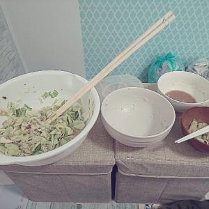今日、昨日作った自炊を食べ続けてますが