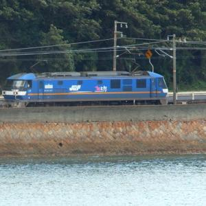 【鉄道写真】JR貨物EF210-307号機電気機関車「桃太郎」/山陽本線大畠駅~神代駅