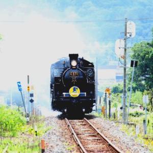 【鉄道写真】C571SLやまぐち号2日目(徳佐駅)