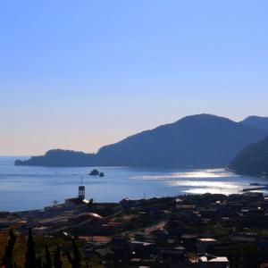 【風景写真】しまなみ海道因島大浜PAの海
