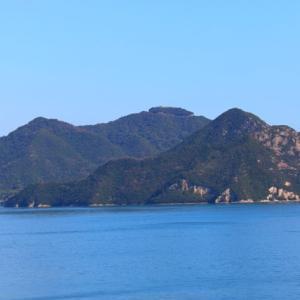 【風景写真】来島海峡の燧灘(ひうちなだ)の景色