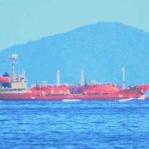 【船舶】岩国沖の赤いLPG船がいいです!
