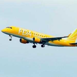 【航空機】出雲縁結び空港のFDA機と日本エアコミューターのプロペラ機