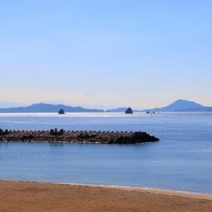 【風景写真】松山市道の駅「風早の郷」の伊予灘