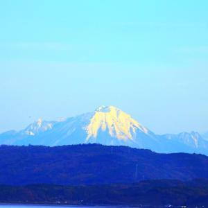 【風景写真】大山の冠雪に感激♪~