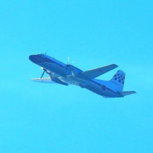 【航空機】超貴重!空自現役最後の一機YS-11FC 151号機飛行撮影!