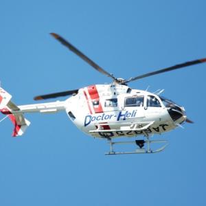 山口県のドクターヘリ Kawasaki BK117C-2