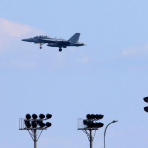 【航空機】米海軍艦載機 EA-18G グラウラー 電子戦機など
