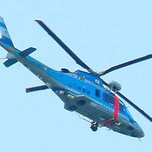 【航空機】ヘリコプター「あきよし」とATR機「コウノトリ号」
