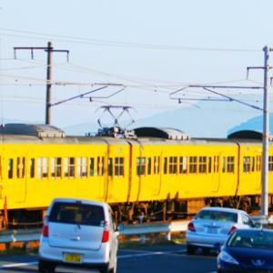 【鉄道写真】大畠瀬戸に一番近い濃黄色115系電車が走る!