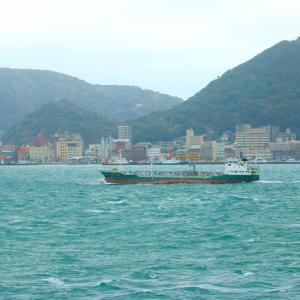 【風景写真】きょうの関門海峡