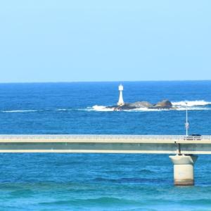 【風景写真】角島大橋の海士ヶ瀬戸