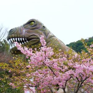 【恐竜】ティラノザウルス・トリケラトプスが楽しい(下松笠戸島)