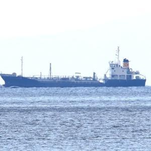 【風景】上関沖を航行する貨物船など