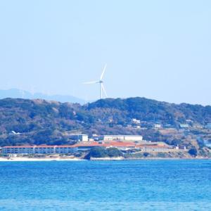 【風景写真】角島から角島大橋・本土を眺望!