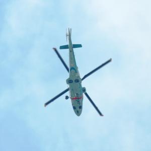 【航空機】山口県警察航空隊ヘリコプター「あきよし」