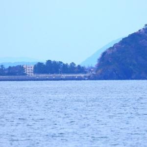 【風景写真】島田川河口から室積半島、大水無瀬島・小水無瀬島を眺望!