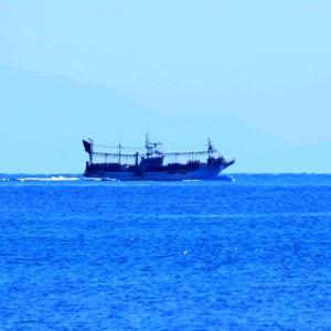 3月の角島の海