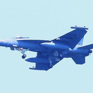 【航空機】戦闘攻撃機F/A-18Fスーパーホーネット、ステルス戦闘機F-35BライトニングⅡ