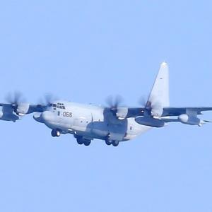 【航空機】米海兵隊 KC-130J 空中給油機 スーパーハーキュリーズ8066番機