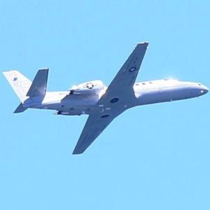 【航空機】米海兵隊UC-35D・C-12J、海自US-2、陸自オスプレイ岩国基地陸揚げ