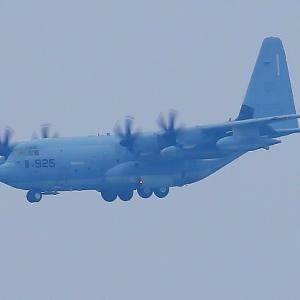 【航空機】米海兵隊 KC-130J 空中給油機 スーパーハーキュリーズ 925番機