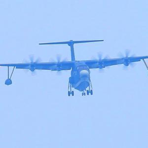 【航空機】頼もしい海上自衛隊 US-2救難飛行艇だョ~♪