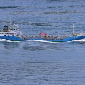 【船舶】大畠瀬戸を通過する貨物船(2)~♪