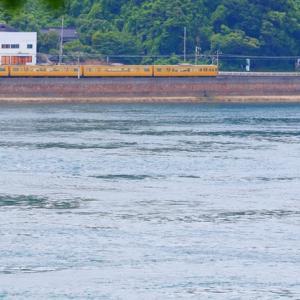 【鉄道写真】海に一番近い山陽本線大畠で115系電車が走っています~♪