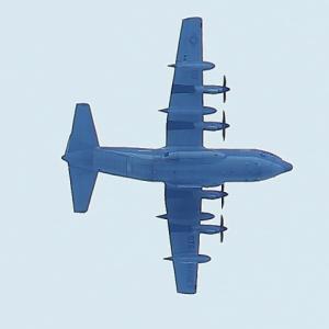 【航空機】米海兵隊第152空中給油機中隊所属のKC-130Jを見たので新型コロナの話も・・・