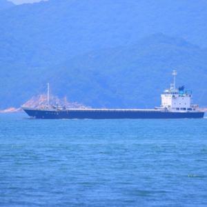 【船舶】島田川河口沖の貨物船など