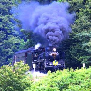 【鉄道写真】8月最後のSLやまぐち号C571が走る!