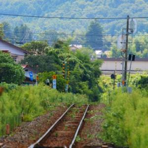 【鉄道写真】山口線徳佐駅のポイント