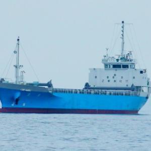 【船舶】光港沖の貨物船