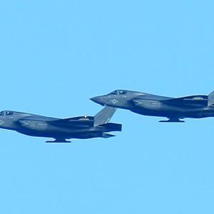 【航空機】米海兵隊岩国航空基地 F-35BライトニングⅡ 戦闘機 帰還