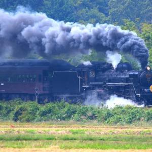 【鉄道写真】JR西日本山口線のSLやまぐち号C571の場合