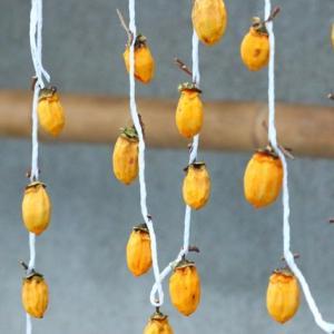 吊るし柿の秋
