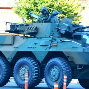 陸上自衛隊 87式偵察警戒車を日原で見ました!