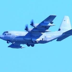 【航空機】米海兵隊KC-130J空中給油機スーパーハーキュリーズ