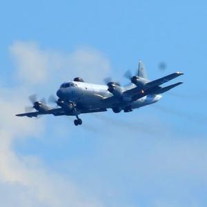 【航空機】海上自衛隊岩国航空基地 UP-3D 電子戦訓練支援機