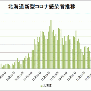 【新型コロナ情報】1月5日新たな感染者 東京都 1,278人、国内計4,907人、神奈川622人