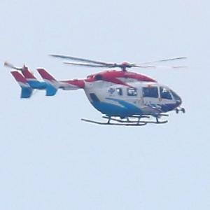 【航空機】防災ヘリ川崎式BK117B-2型