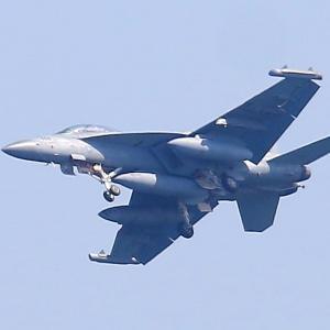【航空機】米海兵隊岩国基地 EA-18G グラウラー 電子戦機 506番機