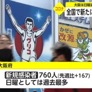 【新型コロナ情報】4月11日新たな感染者 国内計2,777人、東京都421人、大阪760人