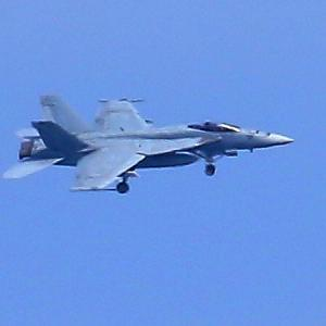 【航空機】米海軍艦載機F/A-18Eスーパーホーネット戦闘攻撃機NF,311号機、403号機帰還