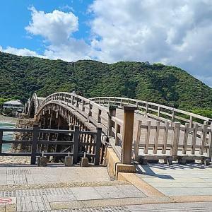 【風景】錦帯橋・岩国城そして錦川