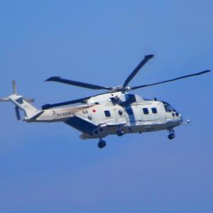 【航空機】海上自衛隊MCH-101型 ヘリコプター