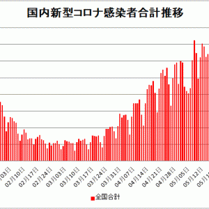 【新型コロナ情報】5月30日新たな感染者 国内計2,877人 東京都448人 大阪197人